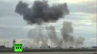 Video of T-28 plane crash at Martinsburg, West Virginia air show