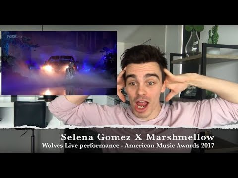 Selena Gomez - Wolves live AMA performance (Reaction)