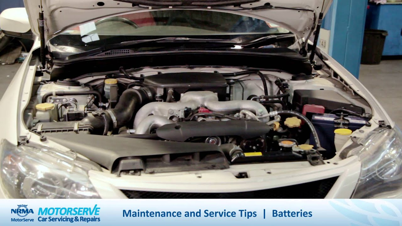 Nrma Car Maintenance Tips Understanding Car Batteries Youtube