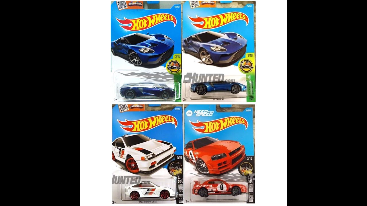 Hot Wheels M And N Case Lineup Youtube