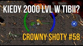 #58 Kiedy 2000 lvl? | Crowny Shoty | Tibia Damora