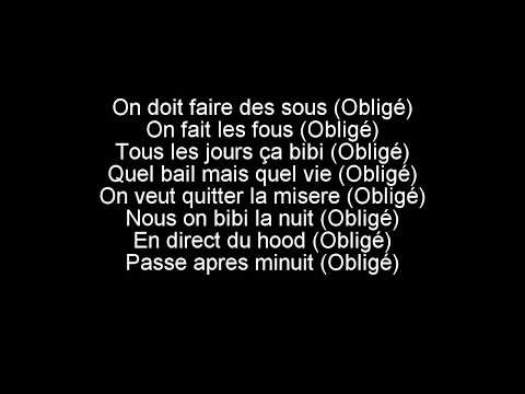 Abou Debeing Feat Naza - Obligé (audio + Lyrics)
