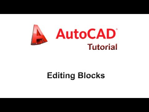 how to add a block autocad