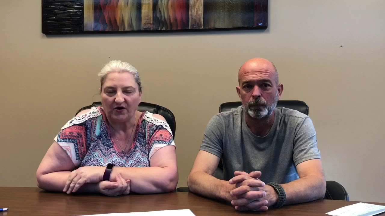 Connie and her husband are very pleased with the sale of their home on Larry Drive