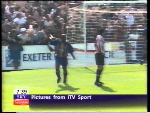 Exeter C. v Shrewsbury T. 1999-2000 Division Three