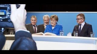 Angela Merkel in Nürtingen