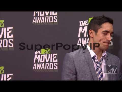 Keahu Kahuanui at 2013 MTV Movie Awards  Arrivals 4142...