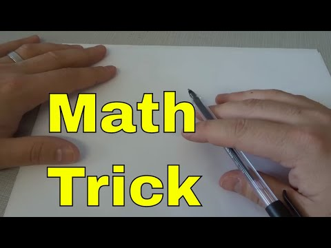 EASY Way To Learn The 8 Times Table-Math Multiplication Trick