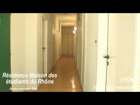LYON 69009 Résidence étudiante Maison Des Etudiants Du Rhône