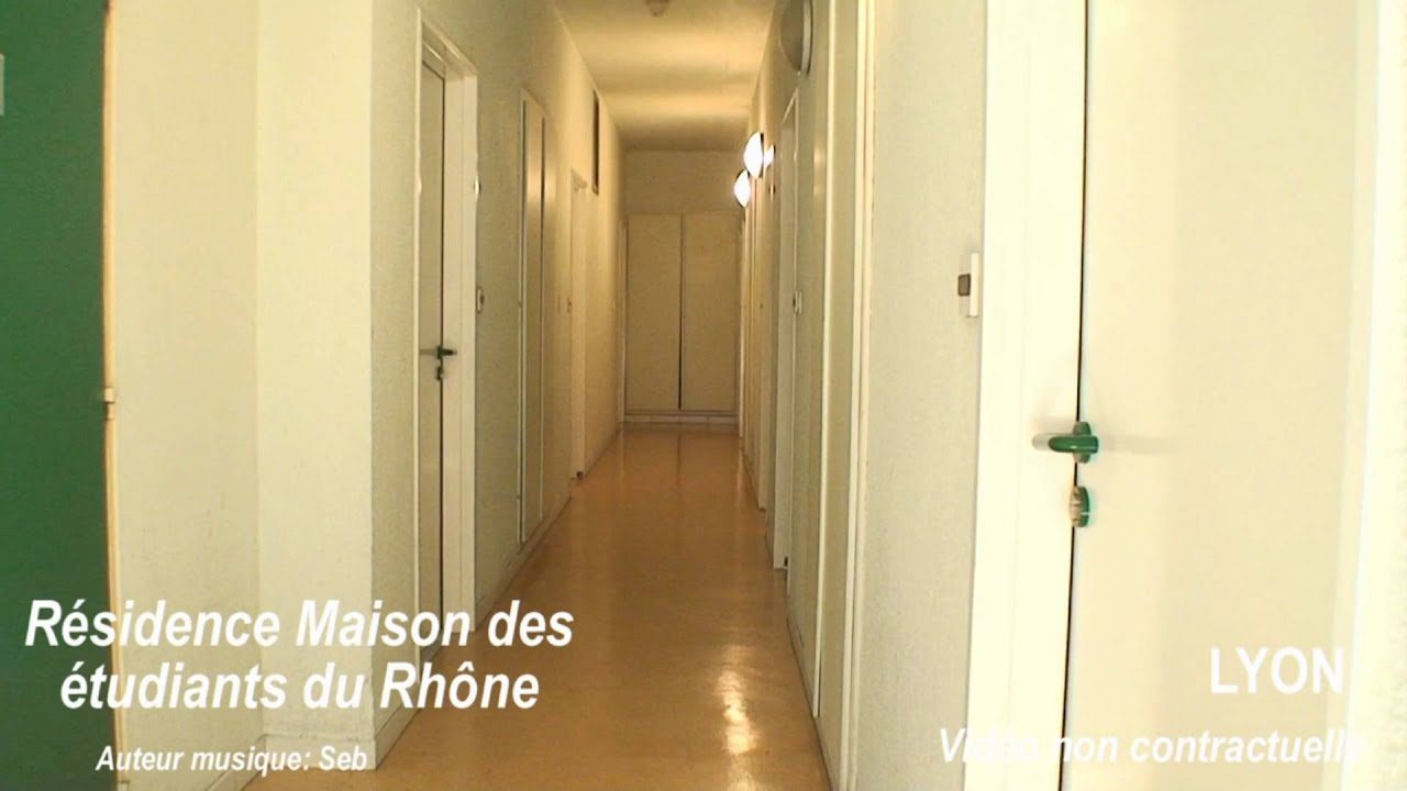 lyon 69009 r sidence tudiante maison des etudiants du rh ne youtube. Black Bedroom Furniture Sets. Home Design Ideas