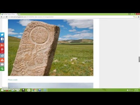 The Ancient Deer Stones Of Mongolia