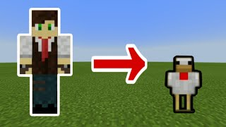 How to morph/transform into mobs using command blocks | Minecraft Bedrock edition