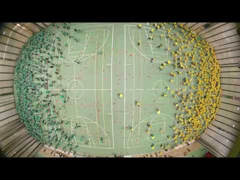Dodgeball Guinness World Record Set By 1,200 U Of A