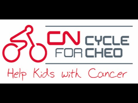 CN Cycle ride for CHEO 2016 Our highlight