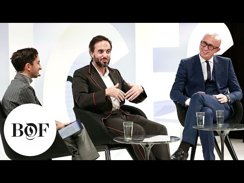 Fashion Business Building in a World of Change | Marco Bizzarri (Gucci) & Jose Neves | #BoFVOICES