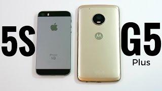 iPhone 5S vs Moto G5 Plus