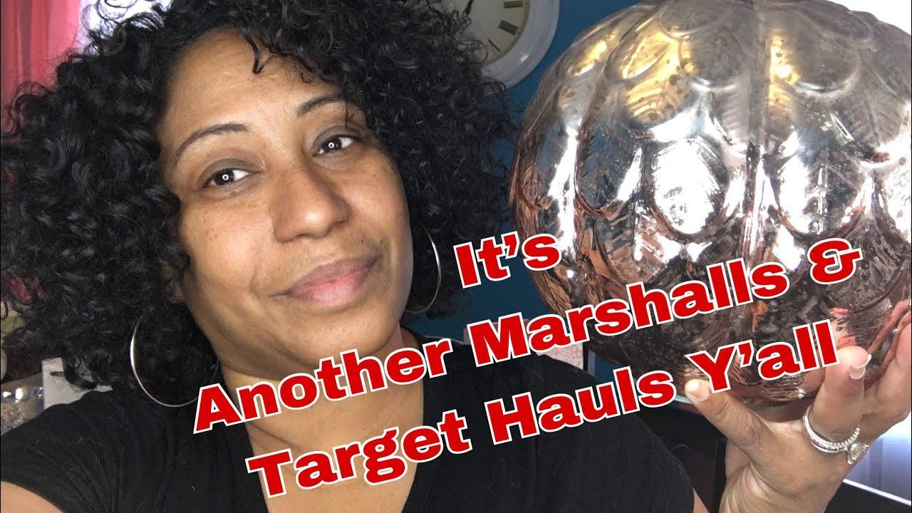 Target home decor haul marshalls