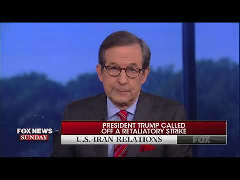 Chris Wallace compares Trump to Obama: Is Iran his 'red line moment'?