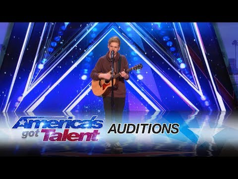 Chase Goehring: Cute Singer Mixes Musical Styles With Original Song  Americas Got Talent 2017