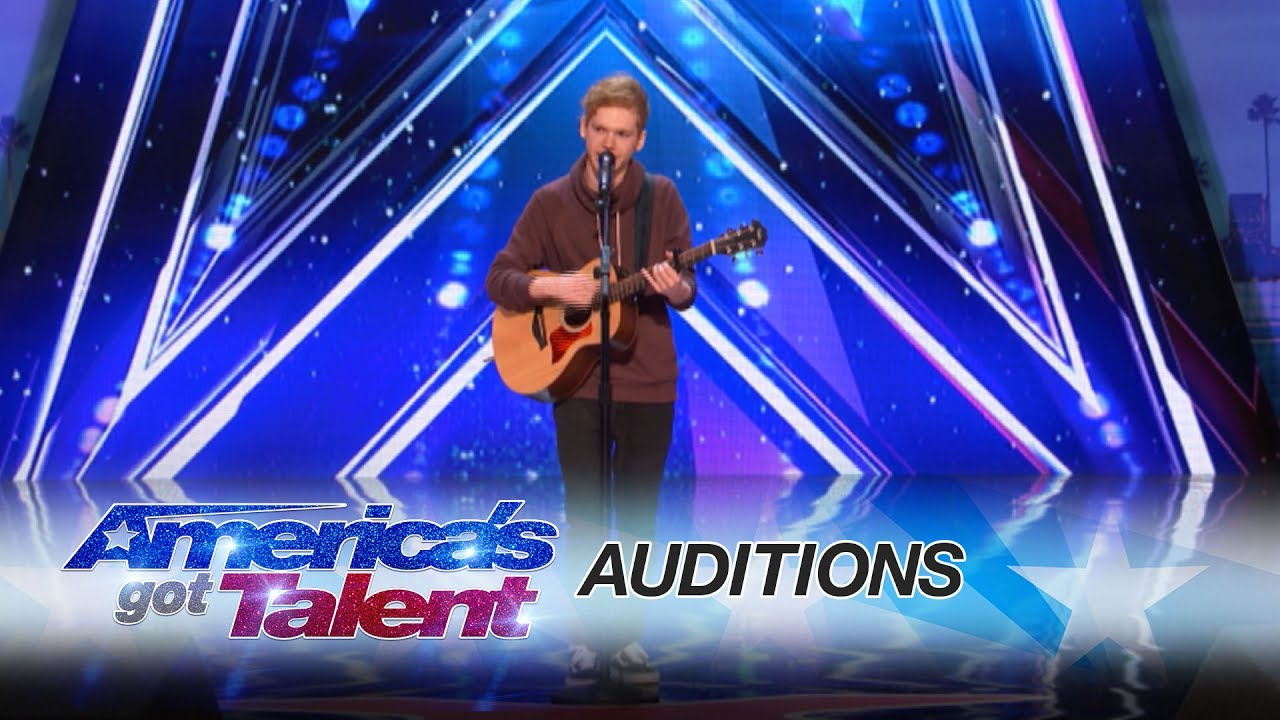 Americas got talent 2017 audition 6 - Chase Goehring Cute Singer Mixes Musical Styles With Original Song America S Got Talent 2017
