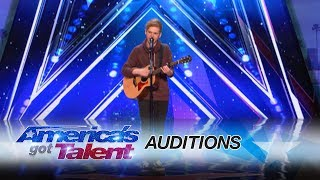 Chase Goehring: Cute Singer Mixes Musical Styles With Original Song - America's Got Talent 2017