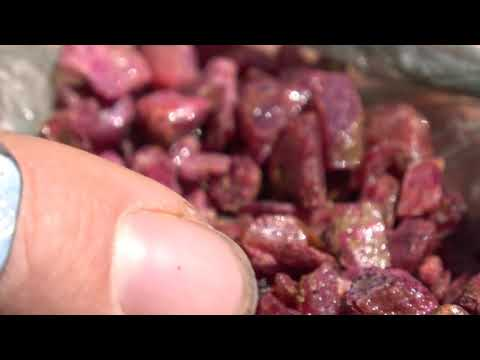 Three Ruby Mining Operations at Montepuez, Mozambique