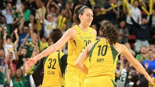 Breanna Stewart Records 28 PTS in Game 5 Victory