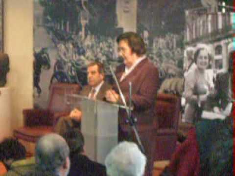 Le�n en el homenaje a Carlos Prats