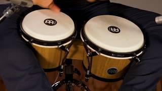 MEINL Percussion Latin Styles on Bongos - HTB100WB-M