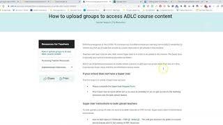 ADLC - Adding Teachers