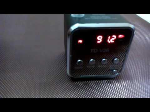 Portable Micro TF USB Mini Stereo Speaker Music Player FM Radio PC MP3 /4