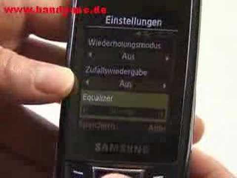 Samsung SGH D880 DuoS Musikplayer