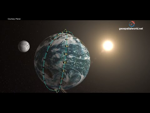 How Planet is covering entire earth 24x7