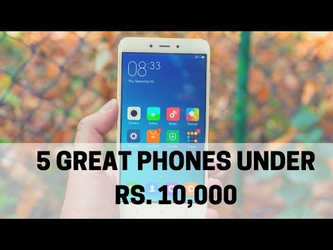 Top Smartphones under Rs 10,000 in India (March 2017) | INFO_BITES
