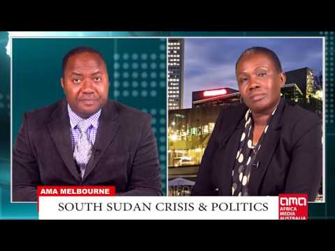 Angelina Teny from SPLM/IO in South Sudan talks to AMA in Melbroune