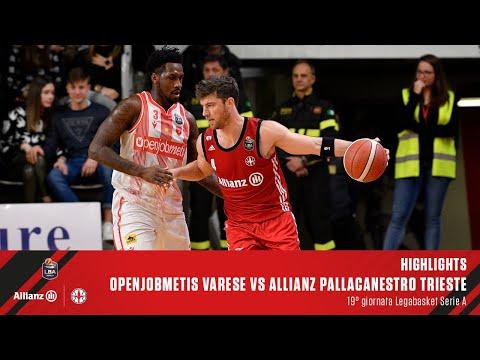 Highlights | Openjobmetis Varese Vs Allianz Pallacanestro Trieste | LBA 19° Giornata