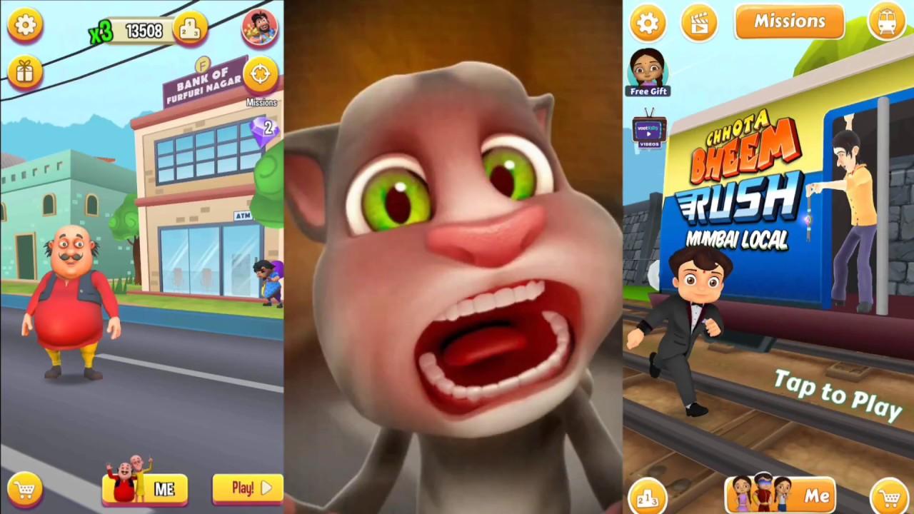 Games Free 007 Motu Patlu Run Vs Chhota Bheem Subway Suffer
