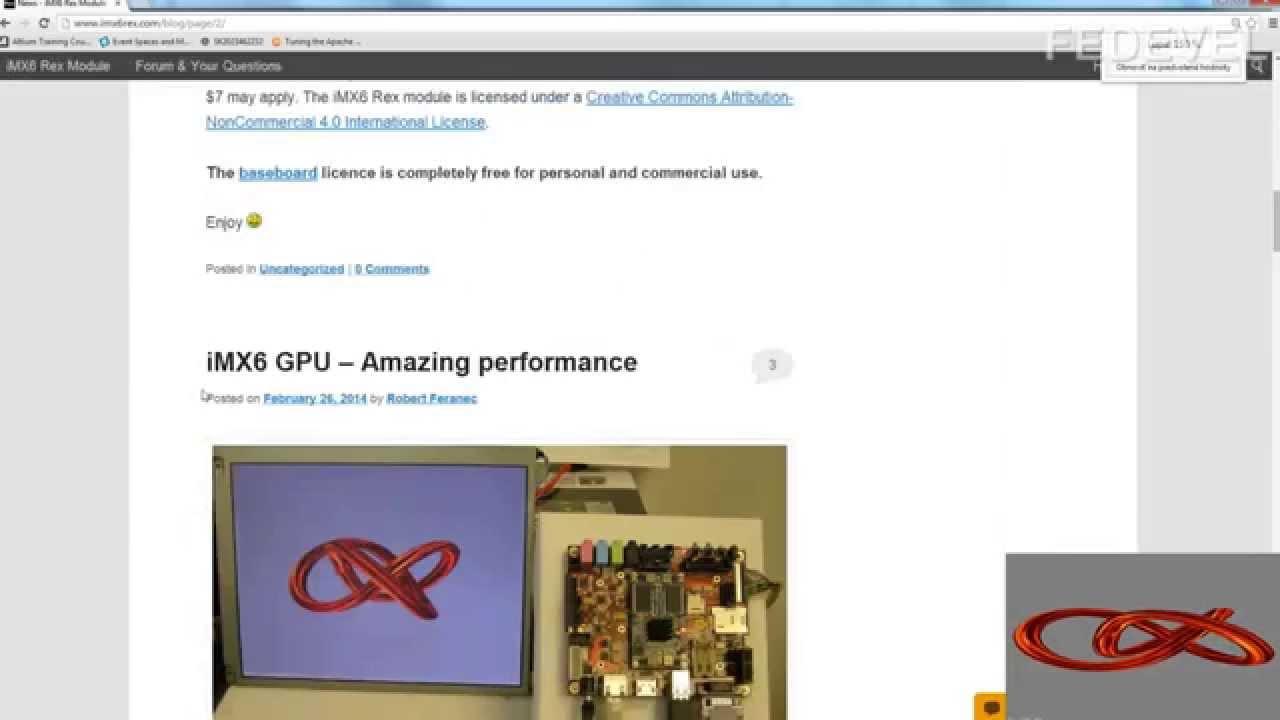 i MX6 Freescale - How to run GPU Examples