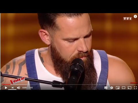 WILL BARBER AMAZING PERFORMANCE !! another brick int the wall PINK FLOYD IN THE VOICE FRANCE