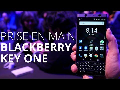 Prise en main du Blackberry KEYOne au MWC 2017
