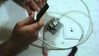 Как подключить TV розетку(Электрика в квартире и доме своими руками ч.8 Ремонт электропроводки и все что с этим связано, в этом видео..., 2014-06-25T06:02:11.000Z)