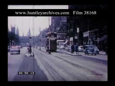 Tollcross Edinburgh, 1950s - Film 38168