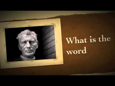 What Is The Word, by Samuel Beckett and written for Joe Chaikin