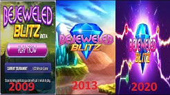 Bejeweled Blitz Evoultion Games (2009-2020)