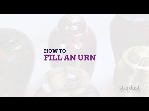 How to Fill An Urn | by Stardust Memorials