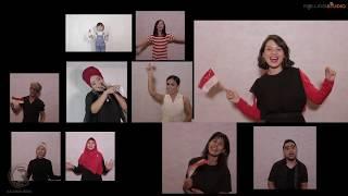 HMRR bersama Artis-artis Favorit Indonesia - Tersenyumlah Ibu Pertiwi