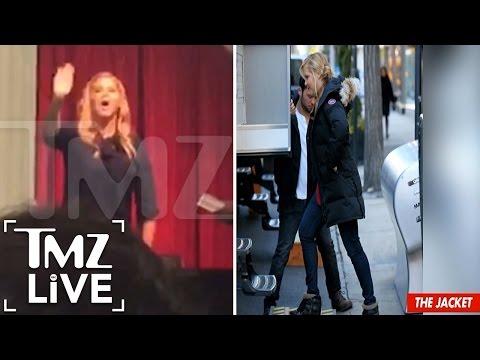 Amy Schumer -- Fur Protesters Crash Book Signing | TMZ Live