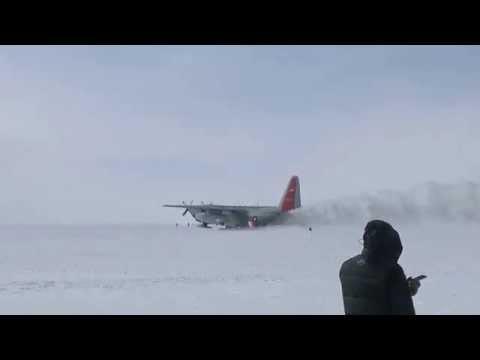 New York Air National Guard C130 JATO HD