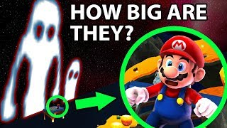 The Horrifying Size of the Hell Valley Sky Trees in Super Mario Galaxy 2