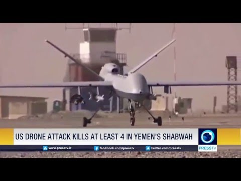 U.S. Drone Attack Kills At Least Four People In Yemen's Shabwah